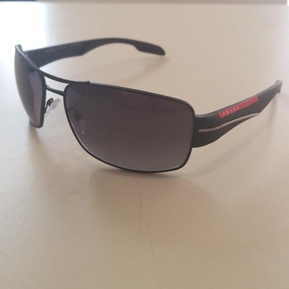 e136459f4e0c0 ... italy brand new prada sport sunglasses 53n polarized bea05 9a939